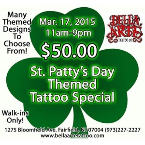 2015 st pattys special