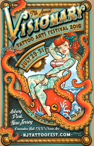 Visionary Tattoo Arts Festival 2016